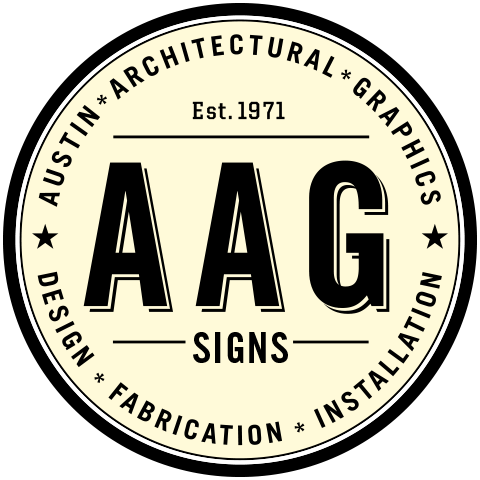 AAG Signs - Austin Architectural Graphics