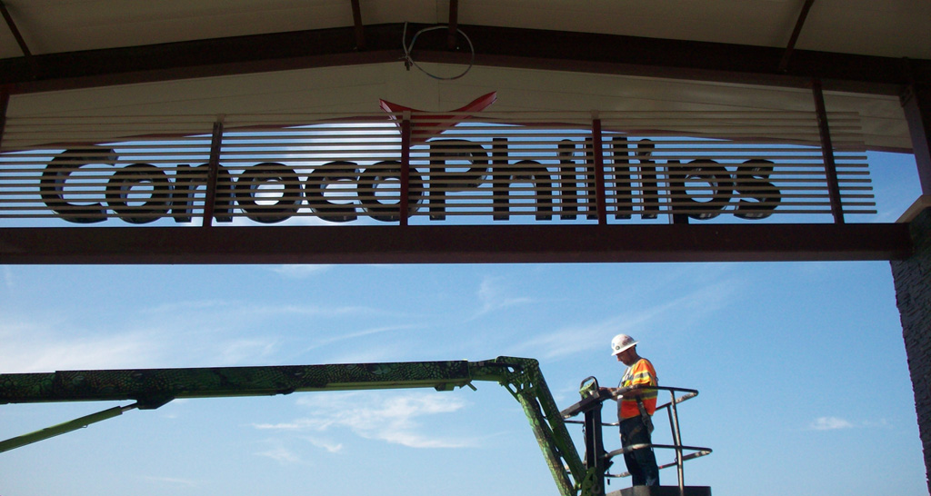 AAG Sign Installation in Austin